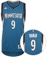 adidas Performance Minnesota Rubio Swingman Basketballtrikot Herren blau L - 54,M - 50,S - 46,XL - 58,XXL - 62