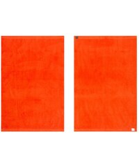 Handtücher Calypso mit schmaler Bordüre Vossen orange 3xHandtücher 50x100 cm