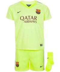 Set: FC Barcelona Babykit 3rd Stadium 2014/2015 Kinder Nike grün 68 (3-6 Monate),74 (6-9 Monate),80 (9-12 Monate),92 (18-24 Monate)