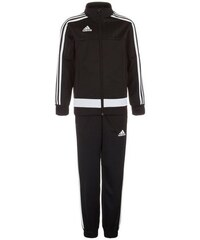 adidas Performance Set: Tiro 15 Polyesteranzug Kinder schwarz 116,128,140,152,164