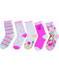 Bugga Sada 5ks dívčích ponožek