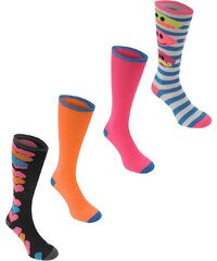 Ponožky Miss Fiori 4 Pack dám.