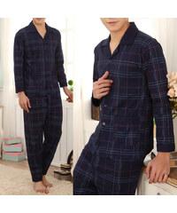 Lesara Ensemble pyjama 2 pièces avec motif tartan