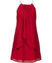 BODYFLIRT Šifónové šaty s náhrdelníkem bonprix