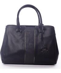Elegantní černá kabelka do ruky Oleanora David Jones