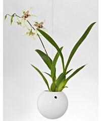 Závěsný květináč Flying Jungle 160 mm Bílý Evervit