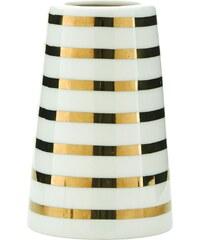 House Doctor Porcelánová váza Sailor Stripes Gold