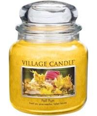 Village Candle Svíčka ve skle Fall fun - střední
