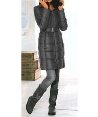 Linea Tesini Dámská bunda kabát zimní antracit