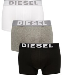 Diesel - Lot de 3 boxers en coton stretch - Multi