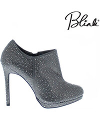 Lesara Blink Ankle Boots mit Strass - 36