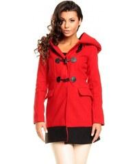 Dámská kabát Fairy červený - červená