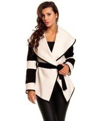 Dámský kabát Luisa bílý - bílá