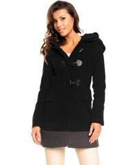 Dámský kabát Fairy černý - černá