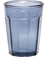 Hübsch Sklenička z recyklovaného skla Blue