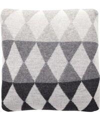 Hübsch Vlněný polštář Lamb grey 45x45