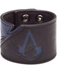 Bioworld Merchandising Assassins Creed Unity náramek s modrým logem