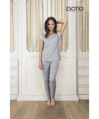 Esotiq Dessa 1 (33547-09X) (33549-09X) Šedé Dámské pyžamo
