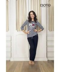 Esotiq Dotty 2 (33536-99X) (33538-99X) Černé Dámské pyžamo