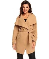 Dámský kabát Vixx - hnědá