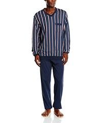 Seidensticker Herren Zweiteiliger Schlafanzug Anzug Lang