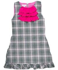 MMDadak Dívčí vzorovaná tunika bez rukávů