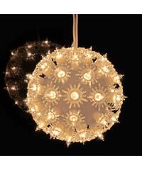 Lesara Lichterkugel mit 50 Lämpchen