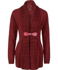 BODYFLIRT boutique Strickjacke in rot für Damen von bonprix
