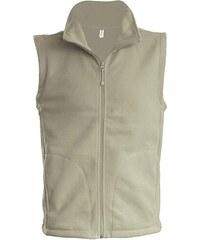 Fleecová vesta Luca - Přírodní S