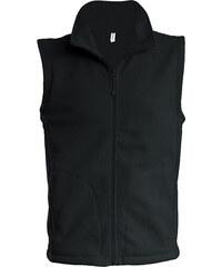 Fleecová vesta Luca - Černá S