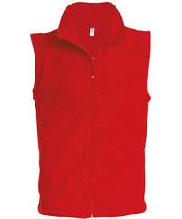 Fleecová vesta Luca - Červená S