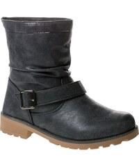 BAOLIKANG Zimní kotníkové boty E372-1B