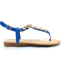 Bellamila Modré sandálky J-01BL