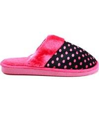 MODERN WORLD Chlupaté papuče 7001FU