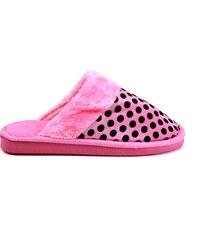 MODERN WORLD Chlupaté papuče 7001PI