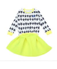 Lesara Kinder-Kleid mit Sternchen-Muster - 98