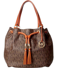 Kabelka Michael Kors jet set Gathered large brown