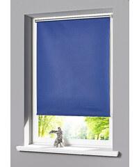 bpc living Store occultant à clipser, Fixation clipsable bleu maison - bonprix