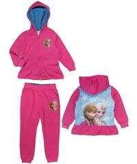 E plus M Dívčí tepláková souprava Frozen