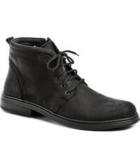 Koma 278 černé pánské nadměrné boty - POŠTOVNÉ ZDARMA - POŠTOVNÉ ZDARMA