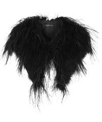 Topshop **Premium Feather Cape