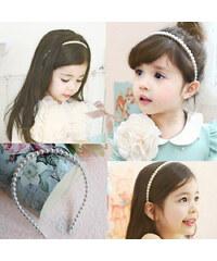 Lesara Kinder-Perlen-Haarreif
