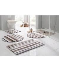 Badematte, Stand WC-Set, Ecorepublic, »Tim«, beidseitig verwendbar, Bio Baumwolle