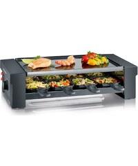 Severin Pizza-Raclette Grill RG 2687, 1150 W, schwarz