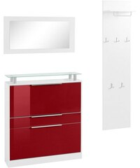 Baur Garderoben-Set Rena 1 (3-tlg.) rot