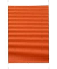 K-HOME Klemmfix-Plissee Siena (1 Stück) ohne Bohren Lichtschutz orange 1 (H/B: 130/40 cm),10 (H/B: 210/70 cm),11 (H/B: 210/80 cm),2 (H/B: 130/50 cm),3 (H/B: 130/60 cm),4 (H/B: 130/70 cm),5 (H/B: 130/8