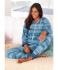 Vivance Dreams Jumpsuit im blauen Norwegerdesign blau 32,34,36,38,40,42,44,46