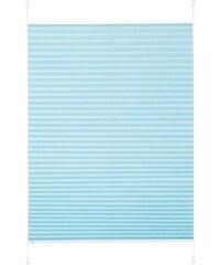 K-HOME Plissee-Faltenstore Klemmfix Pisa im Festmaß ohne Bohren Lichtschutz (1 Stck.) blau 1 (H/B: 130/40 cm),10 (H/B: 210/70 cm),11 (H/B: 210/80 cm),2 (H/B: 130/50 cm),3 (H/B: 130/60 cm),4 (H/B: 130/