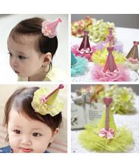 Lesara Kinder-Haarspange mit Hütchen - Gold