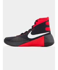 Nike Hyperdunk 2015 Black Metallic Silver University Red